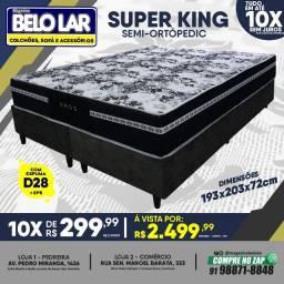 Título do anúncio: Cama Box Super King