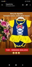 Revenda roupas de bebê R$6,99