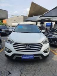 Hyundai gran santa fe 7 lugares 2016 toda revisada