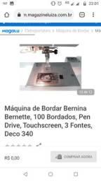 Título do anúncio: Máquina de bordar Bernina Bernette (Na Caixa)
