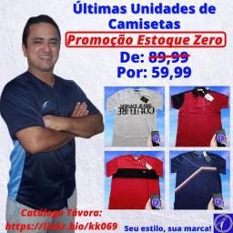 Título do anúncio: Camisetas Masculinas