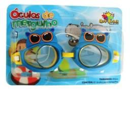 Óculos De Mergulho Natação Piscina Infantil Diversão Verão