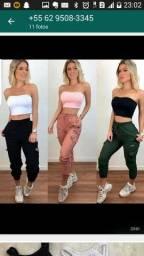 Vendo linda calça atacado  são 30 calça comprei pra revede não vou vende mais