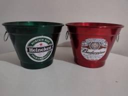 Título do anúncio: Balde Heineken ou Budweiser