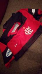 Título do anúncio: camisa Flamengo 2006 tamanho G . original  70 REAIS