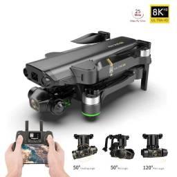 Título do anúncio: Drone Kai One Pro 4k 2 Baterias 1.2km Gimbal 3 Eixos Eletrôn