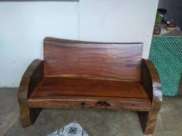Banco madeira jacarandá