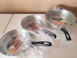 3 frigideiro por 150reais