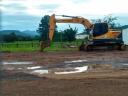 Limpeza de pátios e terrenos