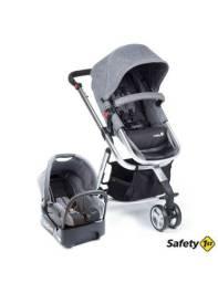 Carrinho + bebê conforto safety 1st mobi