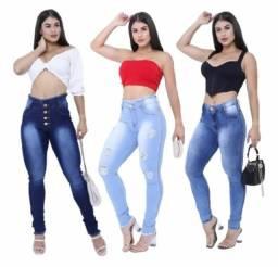 Título do anúncio: Calças jeans lycra feminina_varejo e atacado entrega a domicílio João Pessoa e região