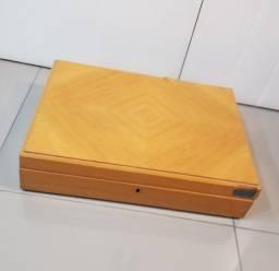Caixa De Madeira Articulada P/ Restaurar Antiga Precisa Reparo