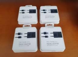 Carregador rápido, Tipo C, Original Samsung (Serve nos iPhones), Novo Lacrado - (7Lagoas)