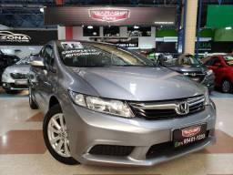 Título do anúncio: Civic LXL 2.0 flex automático +couro+ paddle shift