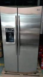 geladeira GE side by side 127V