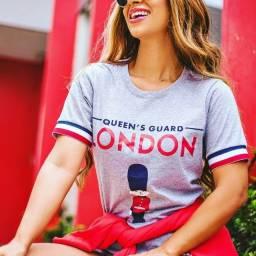 T-Shirt Feminina London!