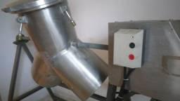 Misturador Y em Inox 50 Kg pó e liquido 100 litros