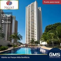 Apartamento Maison Nicole 127m2 - GMS Goiabeiras