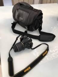 Camera Nikon D3200 - MENOS DE 1 MÊS DE USO