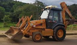 Retro Escavadeira Case 580l 4x2 - 2005
