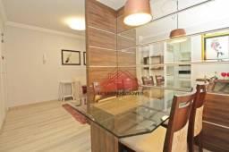 Apartamento 03 dormitórios, semi-mobiliado, vaga coberta, churrasqueira na sacada bem loca