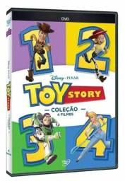 Coleção Toy Story 4 Filmes - 4 Discos - Dvd