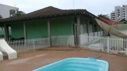 Casa de Temporada de frente para o Rio com piscina em Porto Rico/PR