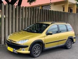 PEUGEOT 206 1.6 CC 16V GASOLINA 2P MANUAL Dourado - 2007 - Placa Final 3 - 2007