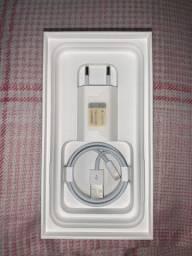 Carregador novo original apple completo
