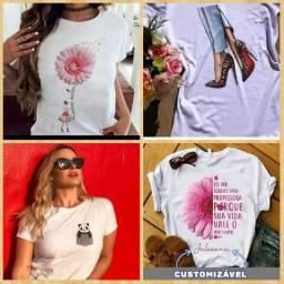 Camisetas personalizadas- Qualquer estampa