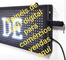 Painel de LED digital ideal para pequenas médias e grandes empresas e igrejas