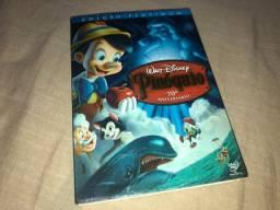 DVD Pinoquio - Duplo