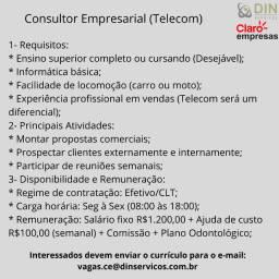 Consultor Comercial (Telecom)