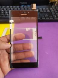 Touch Tela Vidro Sony Xperia M2 Aqua D2304 D2305 D2306 leia