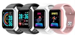 Relógio Inteligente Smartwatch D20 Android/ios Whats/Face/Passos Promoção Black Friday