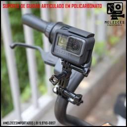 Suporte de Guidão Aticulado Para GoPro E Similares