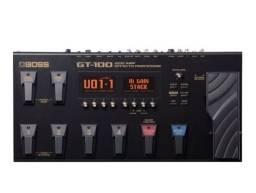 Pedaleira Boss Gt100 Multi Efeitos Guitarra Gt-100 *Promoção