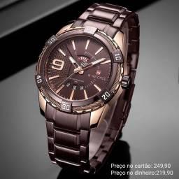 Relógio masculino importado original Naviforce