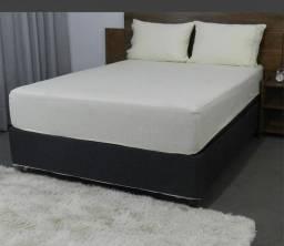 Jogo de cama casal algodão 3 peças