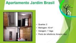 Título do anúncio: apartamento jardim brasil - R$ 160 mil