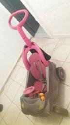 Carrinho cor de rosa