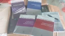 Livros da área de Administração e Ciências Contábeis