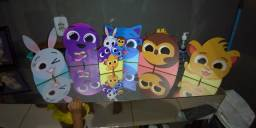Totem + painel bolofofos