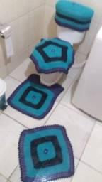 Título do anúncio: Jogo de banheiro crochê