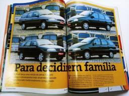 Revista Quatro Rodas - Palio Weekend x Parati x Corsa Wagon x Escort SW
