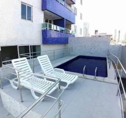 Excelente Apartamento Semi-mobiliado, 03 Quartos, à 600m da Praia de Manaíra