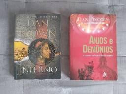 Livros Dan Brown ( Inferno / Anjos e Demônios)
