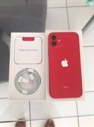 iPhone 12 64gb Red NOVO