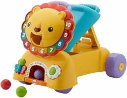 Andador Brinquedo Bebê 3 Em 1 Ride Lion Toy - Fisher Price