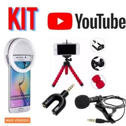 Kit Youtuber Iniciante para gravar Videos Muito Barato !